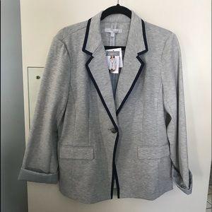 NWT heather grey blazer